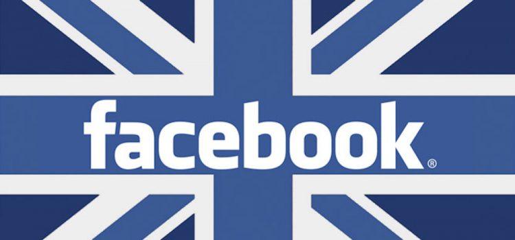 facebook multa UK