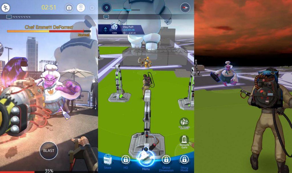 mundo dos caça-fantasmas pokémon ir AR