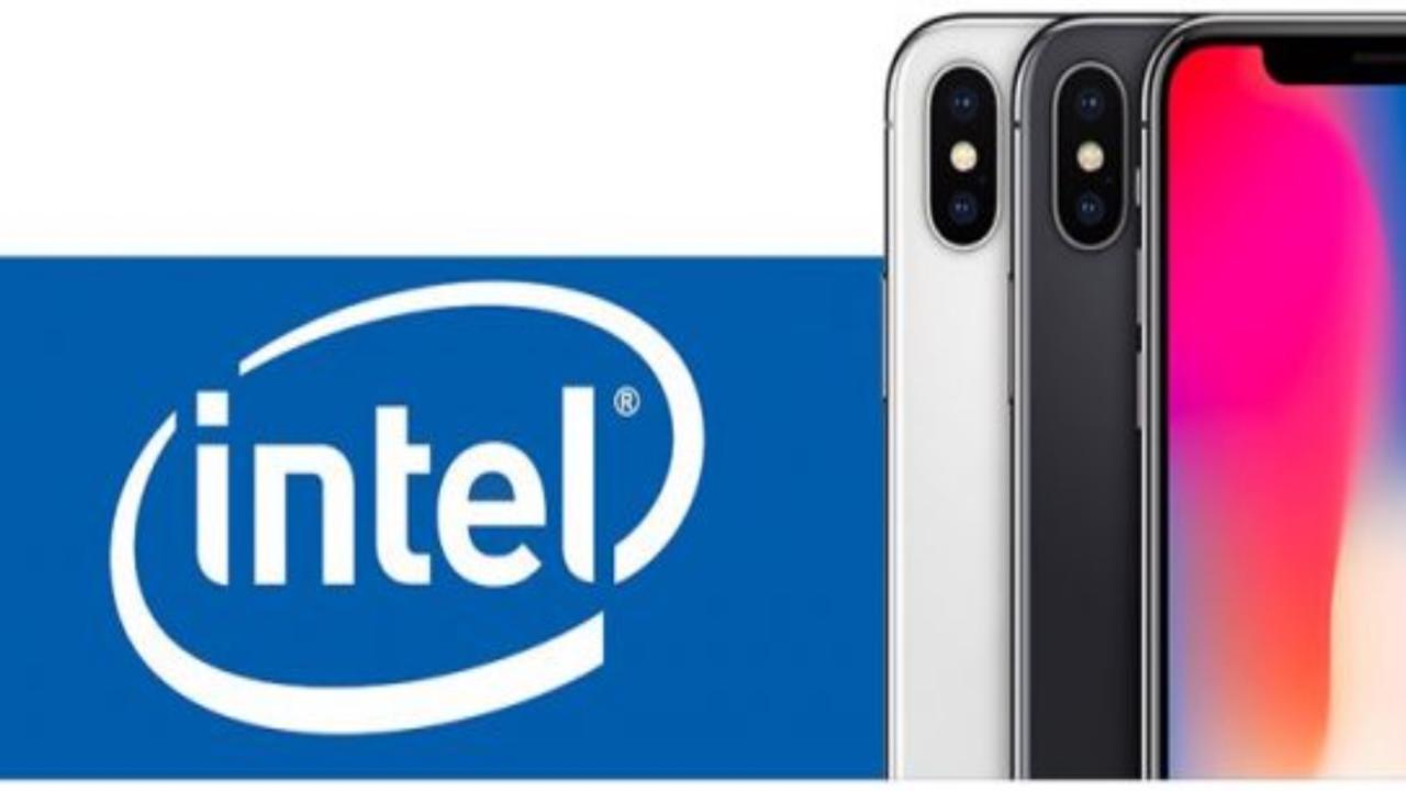 intel vs qualcomm iphone 2018 Apple
