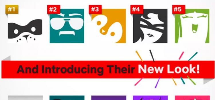 netflix novos ícones de perfil