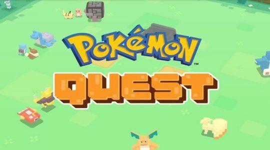 pokémon quest android iOS nintendo