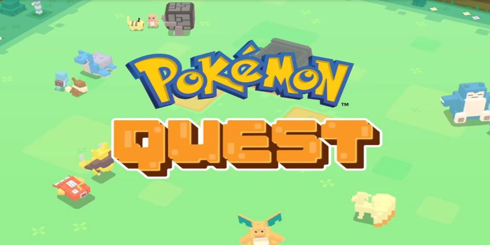 pokémon quest android iOS nintendo