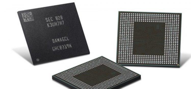 samsung LPDDR4X seconda generazione