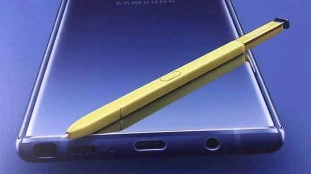 Samsung-Galaxy-Note-9-cartel-s-pen-amarillo-banner