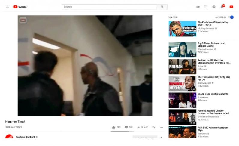 youtube novità rapporto d'aspetto