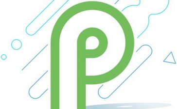 android 9 p logo