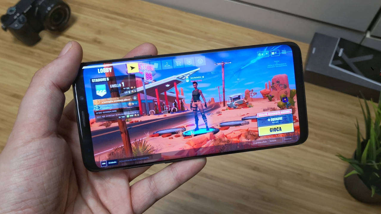 fortnite android samsung galaxy s9 plus