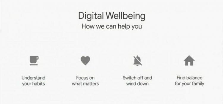 digital wellbeing google