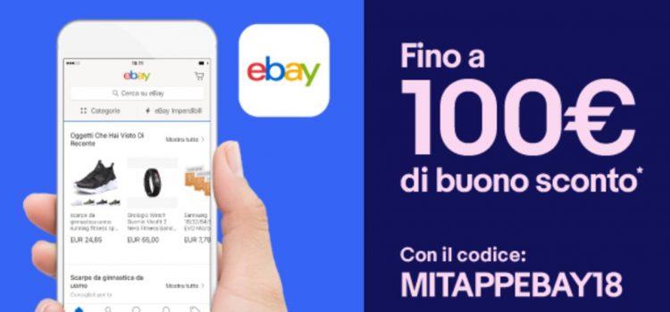 cupón de descuento de eBay 1 MITAPPEBAY18