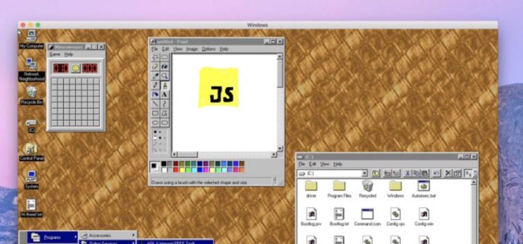 Windows 95 app MacOS Linux 1
