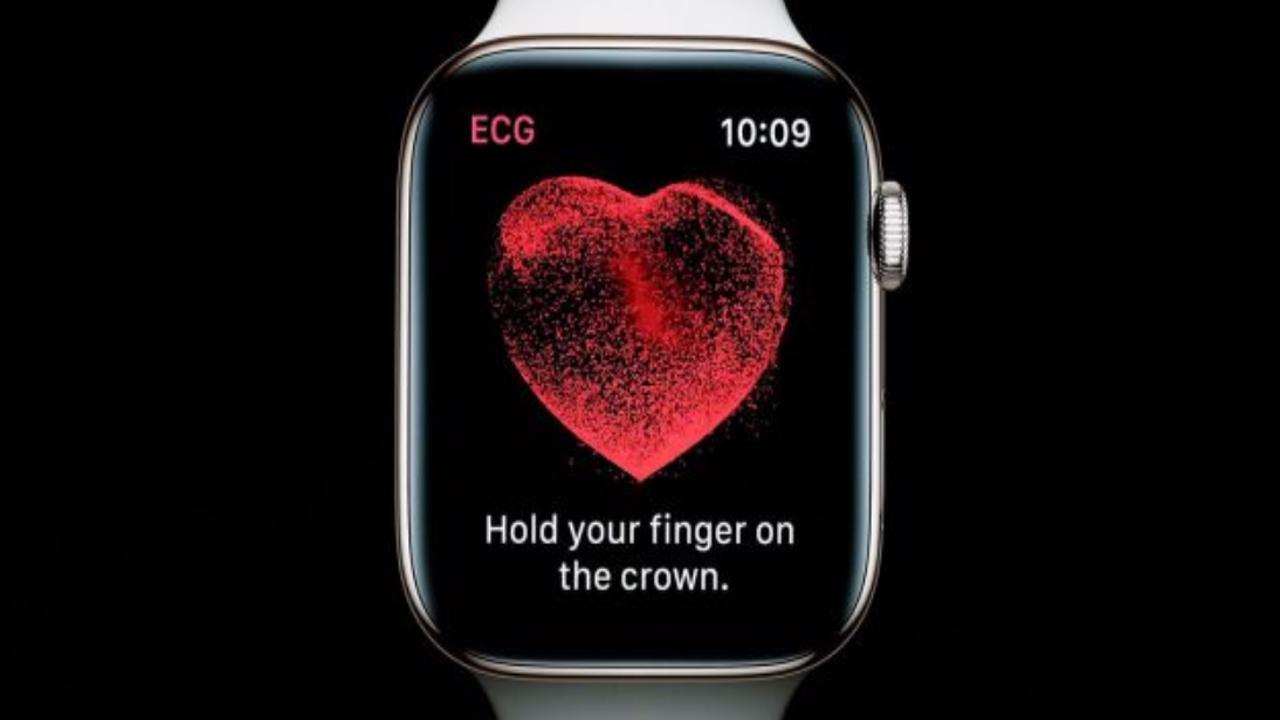 Apple Watch série 4 ECG