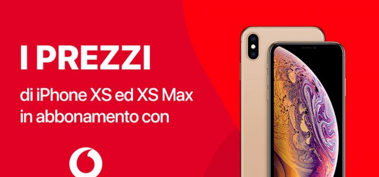 Apple iPhone XS XS Max Vodafone