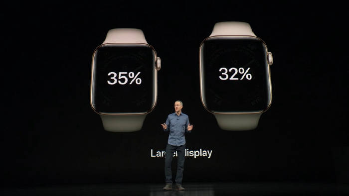 Apple mira la serie 4
