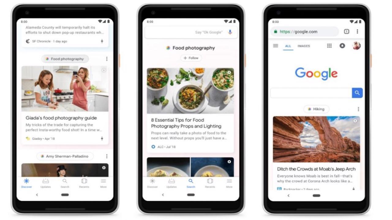 Google Feed Google Discover