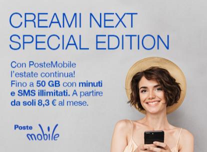 PosteMobile Creami neXt Special Edition