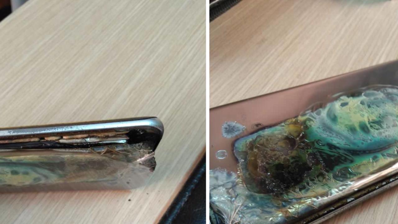 Samsung S7 edge scoppio