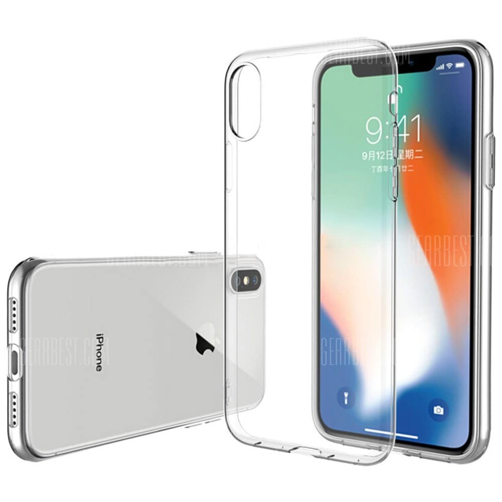 ASLING Ultra-slim TPU Cover Case for iPhone X