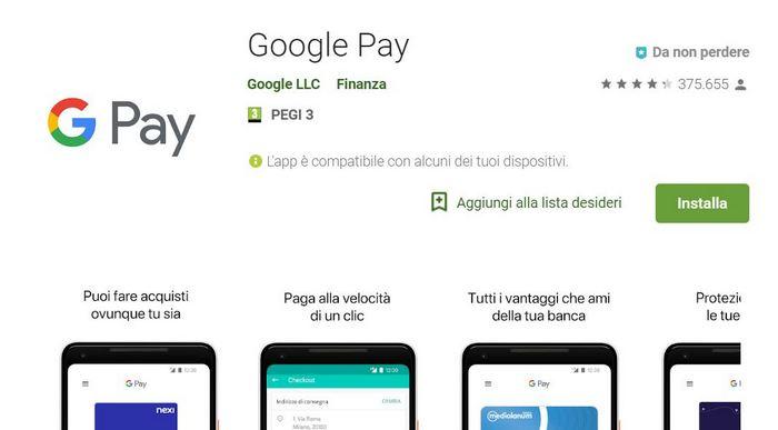 Google Pay comincia ad ingranare in Italia: manca poco all'arrivo ufficiale?