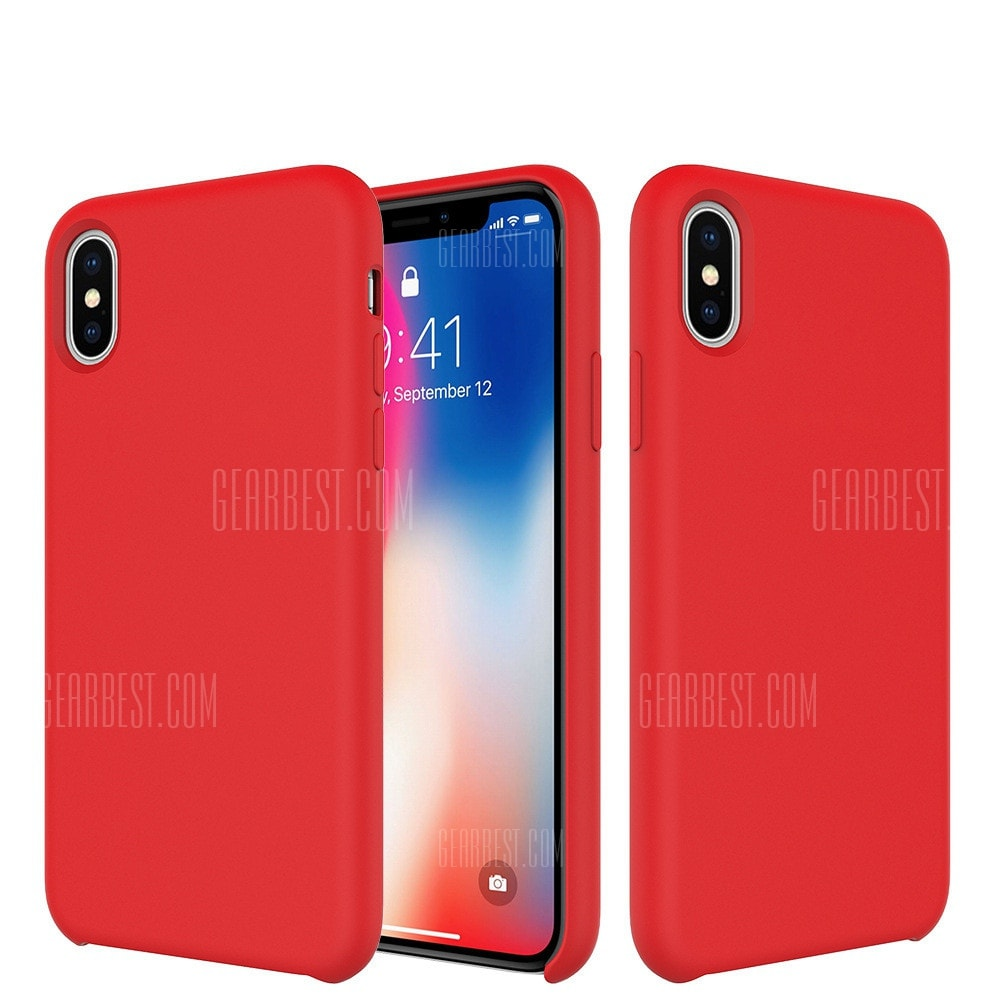 Original Silicone Case for iPhone X Cover