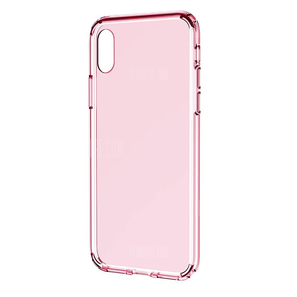 Rock Ultra-slim Dirt-proof Back Cover for iPhone X