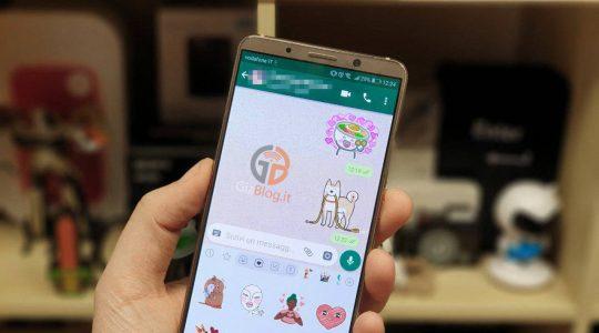 come attivare stickers whatsapp android