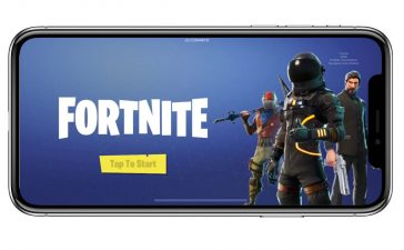 fortnite ios iphone x