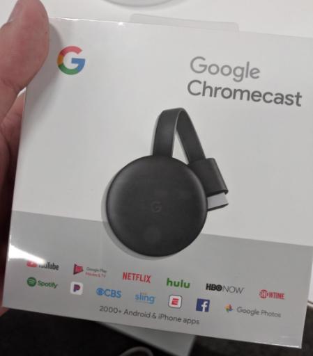 Google Chromecast 3 1