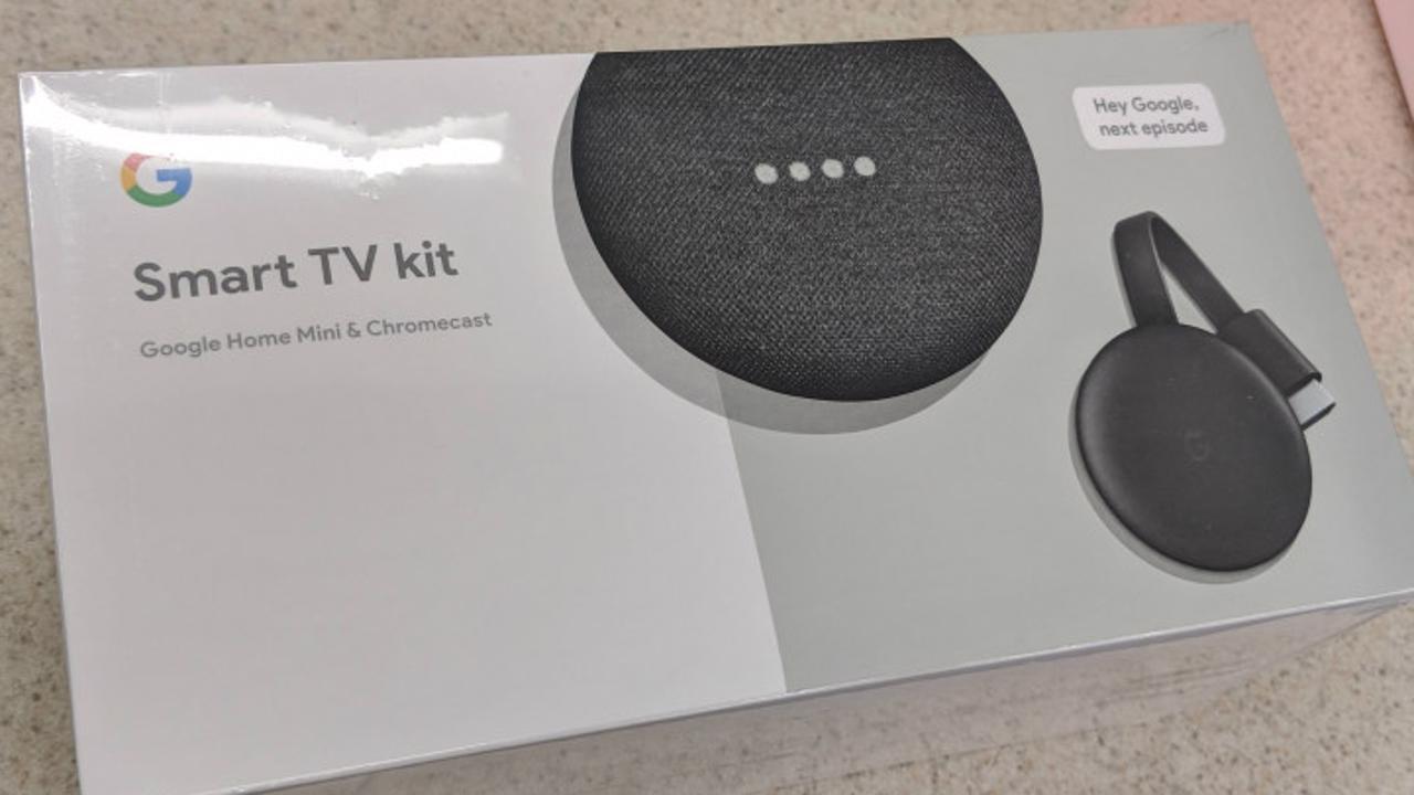 Google Smart TV Kit Google Home Mini Chromecast 3 1