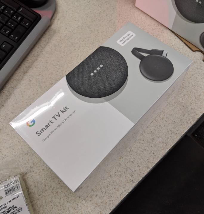 Google Smart TV Kit Google Home Mini Chromecast 3