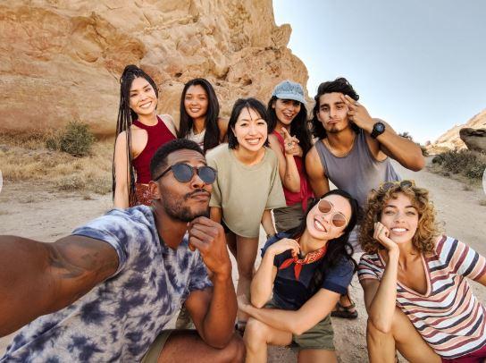 google pixel 3 grupo selfie