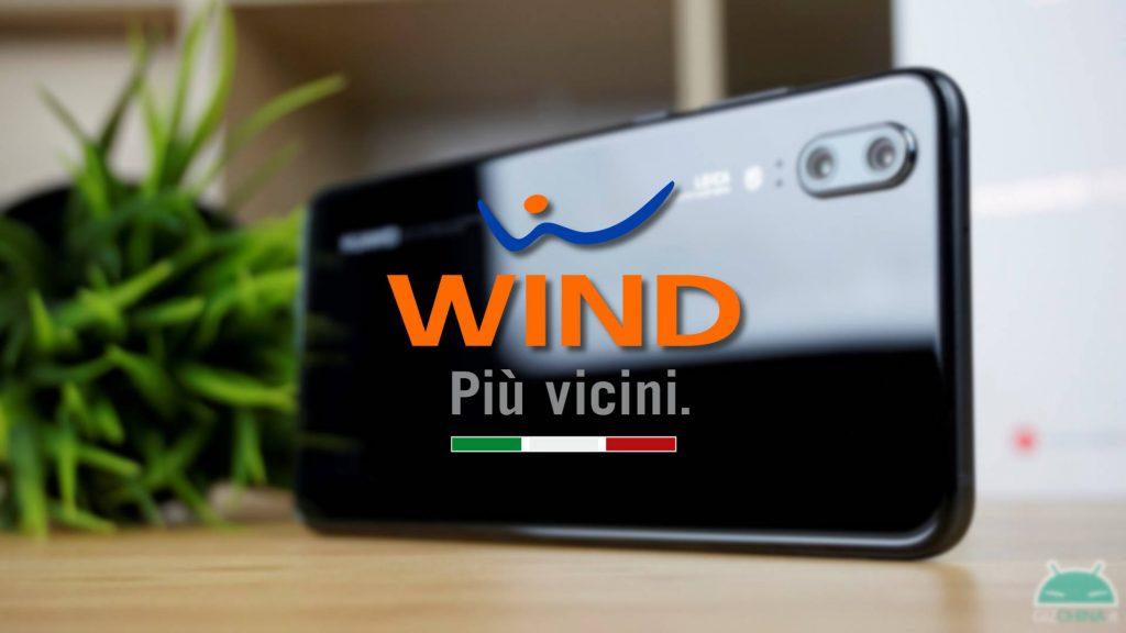 huawei p20 wind