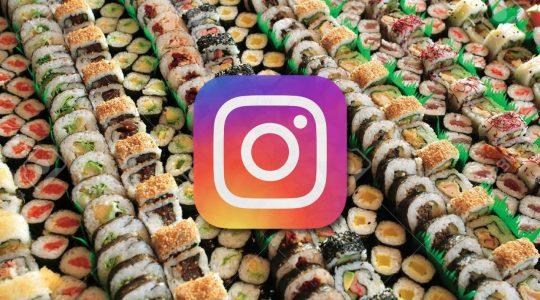pagare sushi con follower instagram
