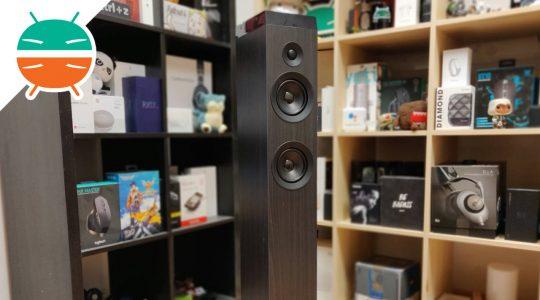 recensione energy tower 7 true wireless speaker