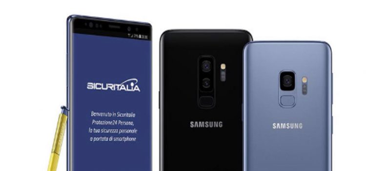 Samsung Sicuritalia Galaxy S9 S9+ Note 9