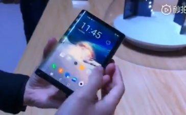 гибкий дисплей складной смартфон