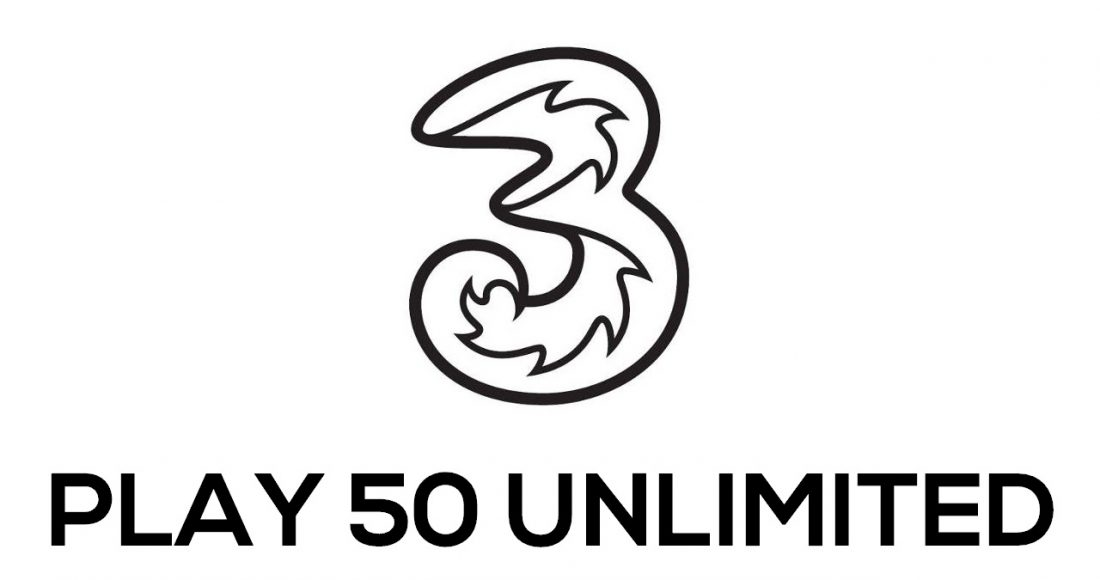TRE PLAY 50 UNLIMITED logo