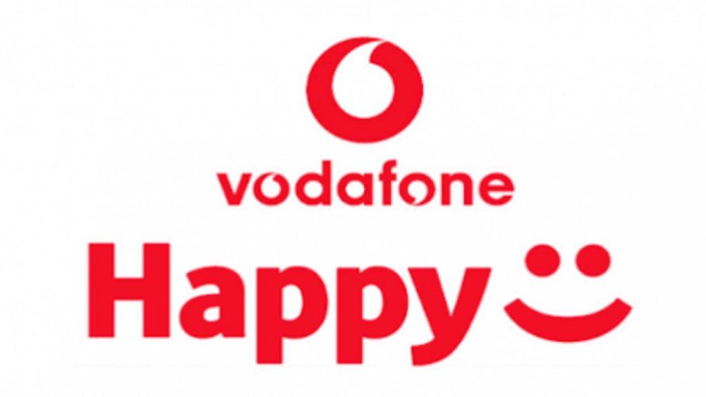 Vodafone Happy Friday logo