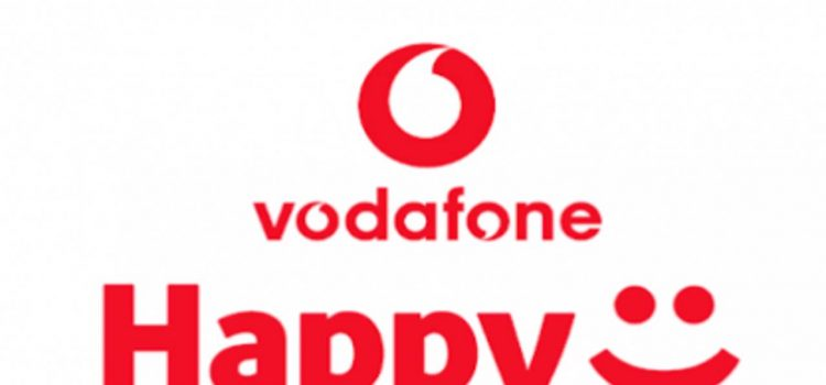 Logotipo de Happy Friday de Vodafone