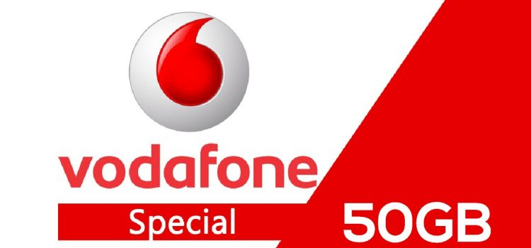 Vodafone Special Unlimited 50 gb