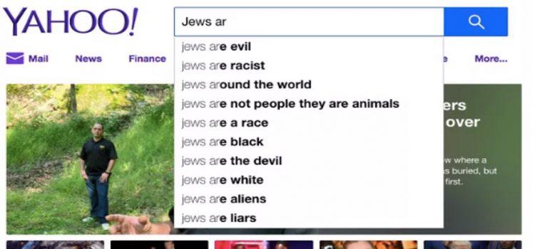 bing razzismo antisemitismo yahoo 3