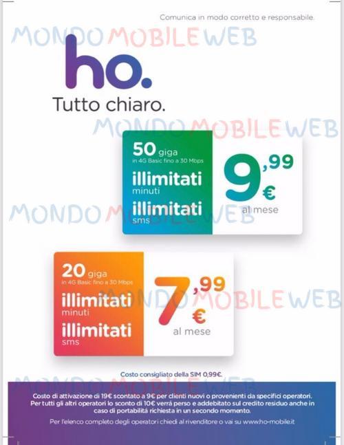 Ho.Mobile: incremento di prezzo sull'attivazione per alcuni clienti dal 15 ottobre