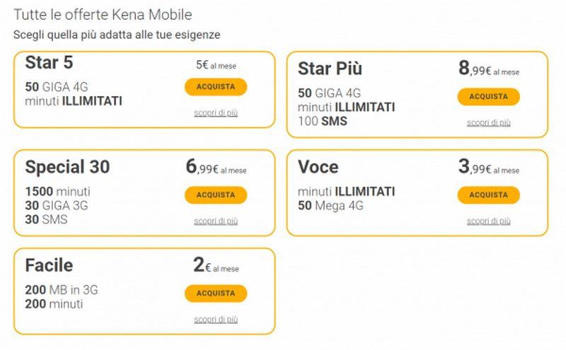 Ecco come attivare il 4G di Kena Mobile dal 31 ottobre