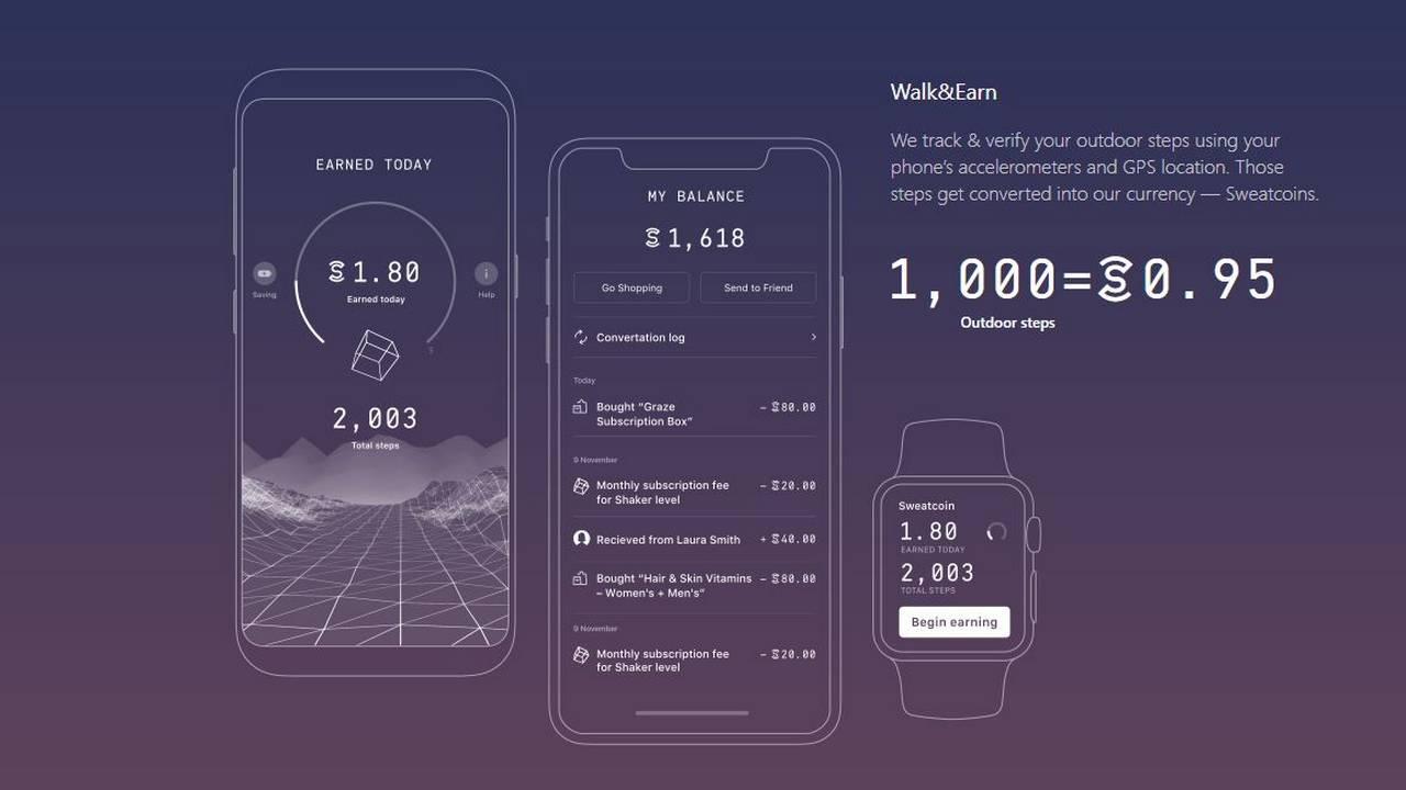 Sweatcoin ti paga per camminare truffa o realt gizblog for App che ti paga per camminare