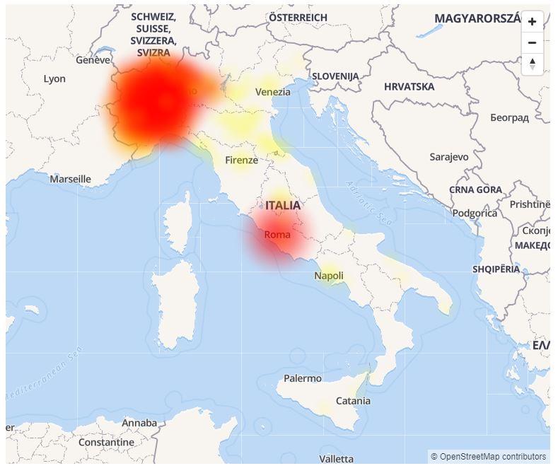 Vodafone Down in Italia: problemi e disservizi con chiamate e Internet