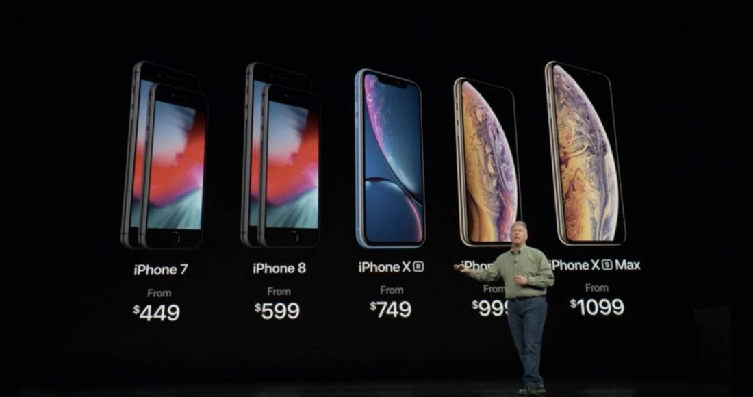 apple iphone xs max iphone xr