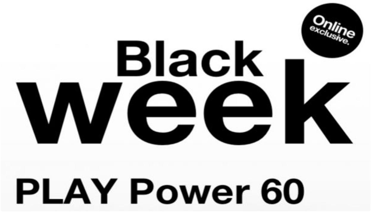 Black Friday tre Play Power 60 GB