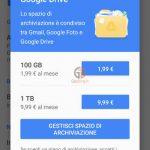 come fare backup android google drive