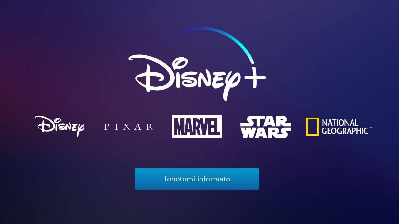 Arriva Disney+, il nuovo servizio di streaming