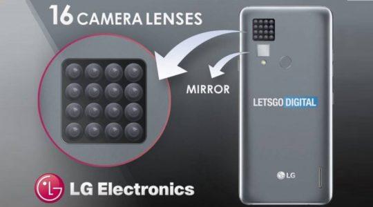 lg brevetto 16 fotocamere