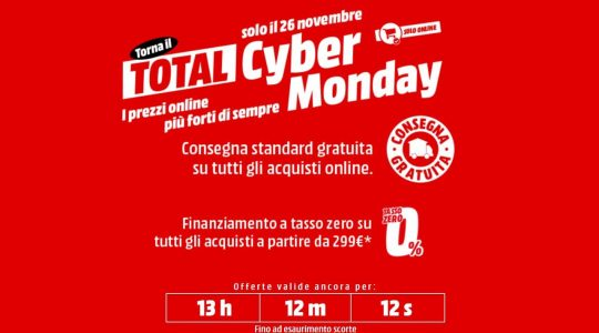 mediaworld cyber monday